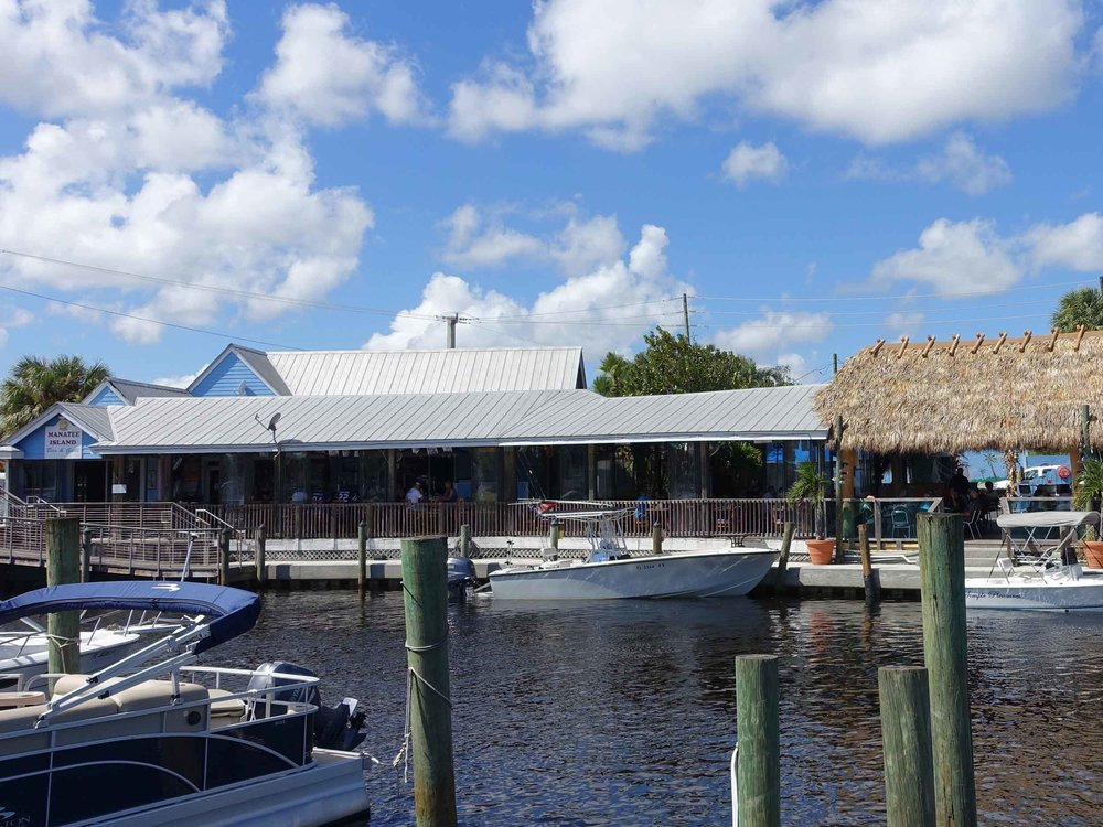 Manatee Island Bar and Grill Water View