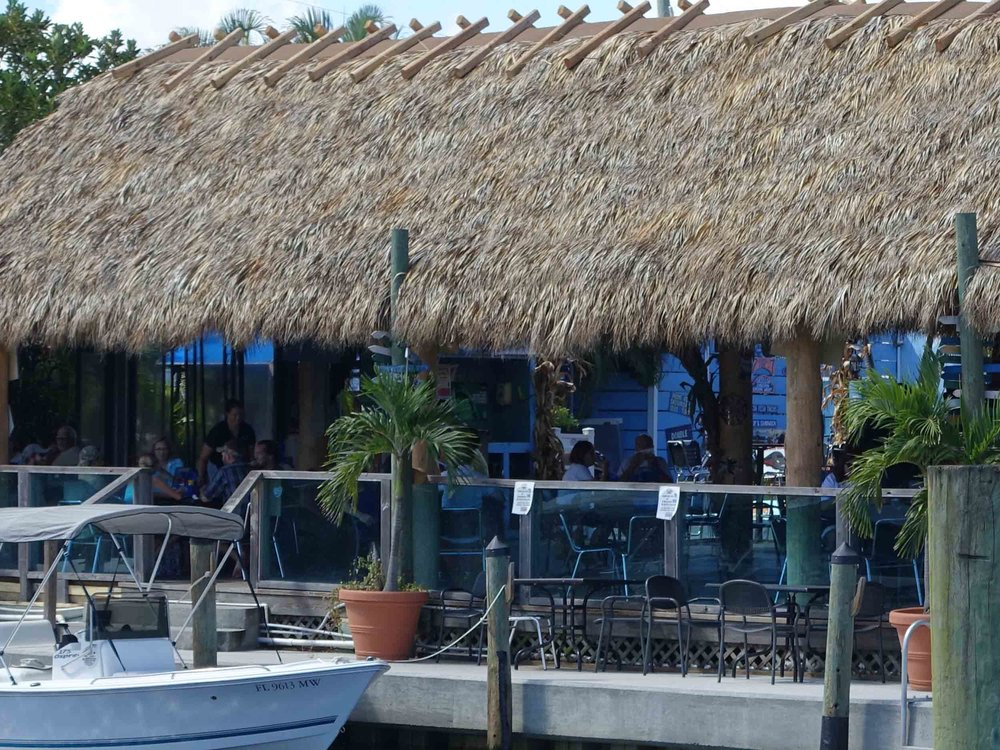 Manatee Island Bar and Grill Dining Area
