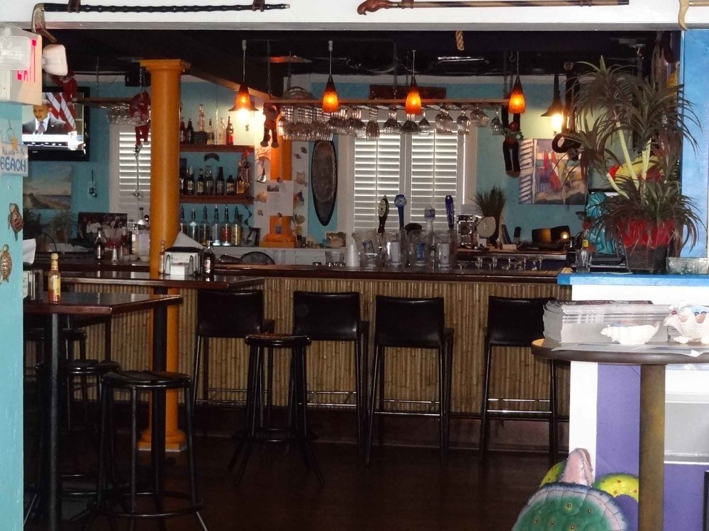 Lagerheads Bar and Grill Interior Bar