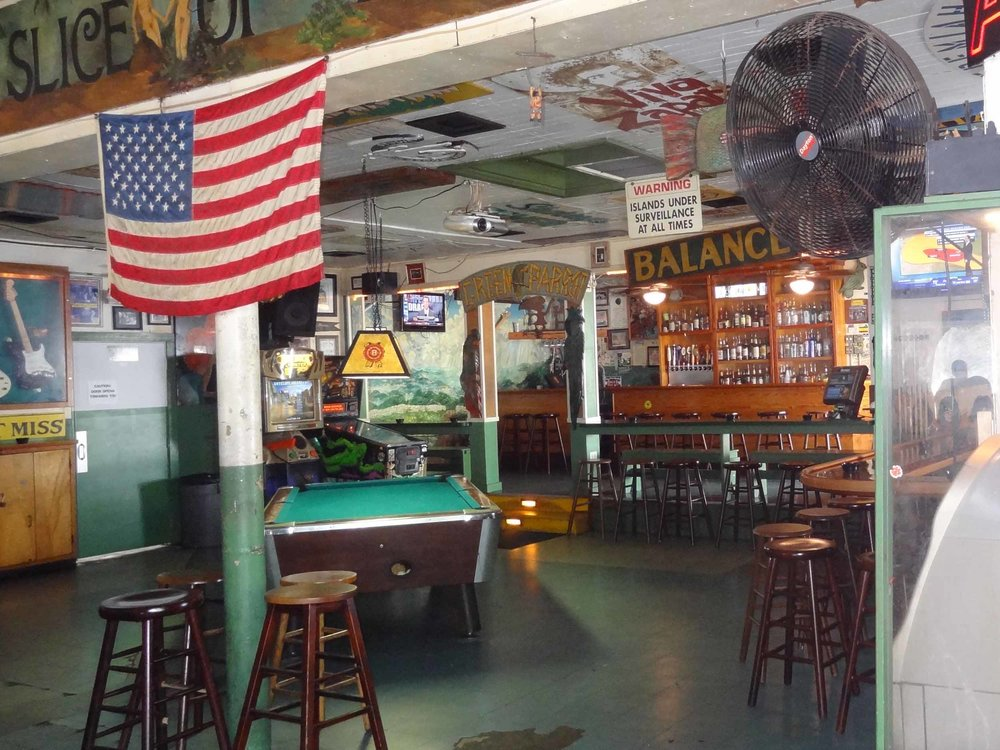 Green Parrot Bar Interior