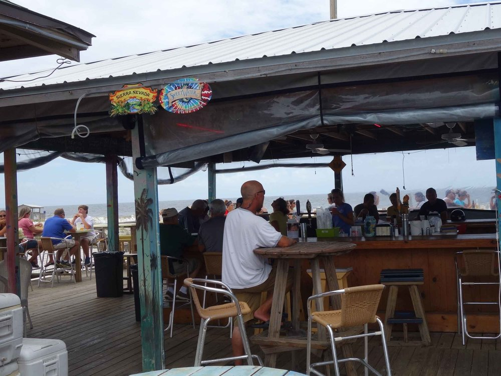 Lagerheads on the Gulf Bar Area