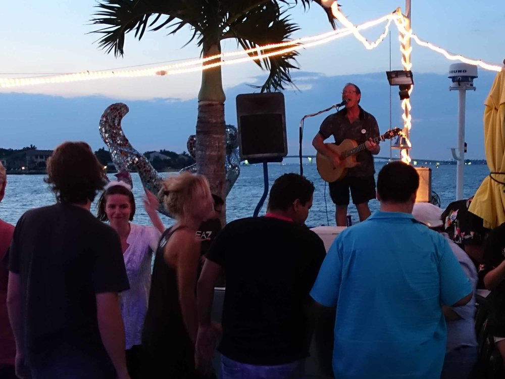 LeBarge Tropical Cruise Live Music
