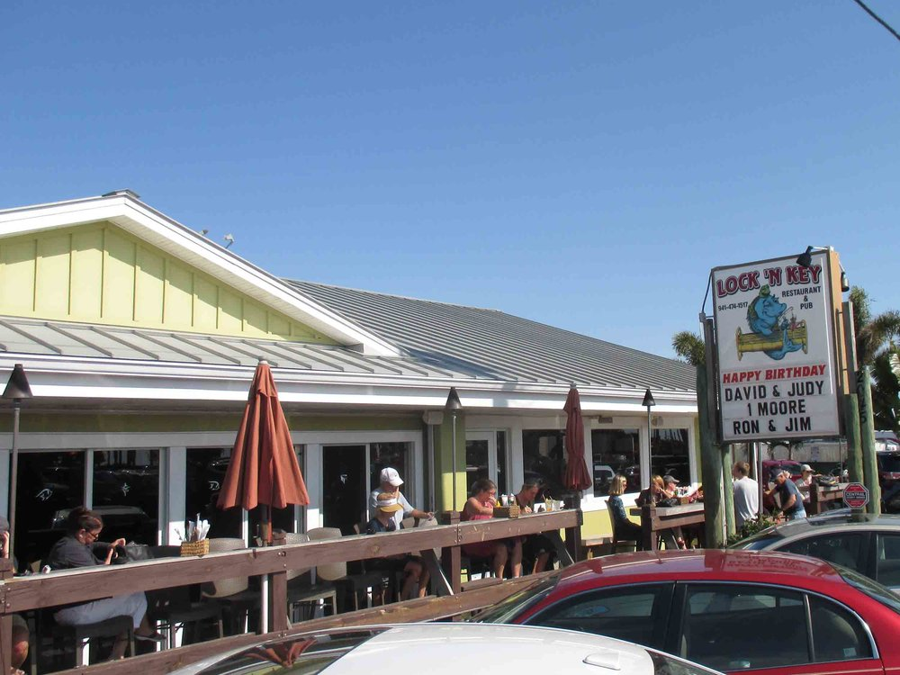 Lock 'N Key Restaurant and Pub Exterior