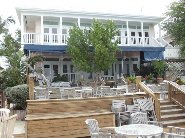 Louie's Backyard Seating Area - Louie's Backyard — Florida Beach Bar