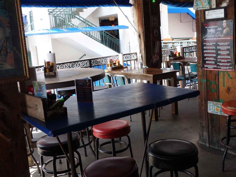 Lulu's Bait Shack Dining Area