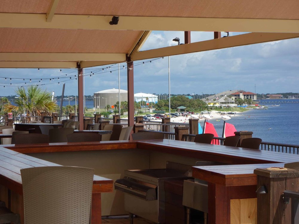 Hemingway's Island Grill Upper Deck Bar