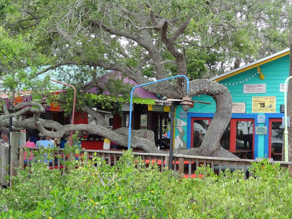 Hidden Treasure Rum Bar and Grill Patio