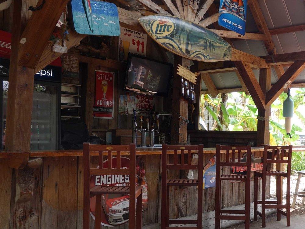 Hidden Treasure Rum Bar and Grill Bar