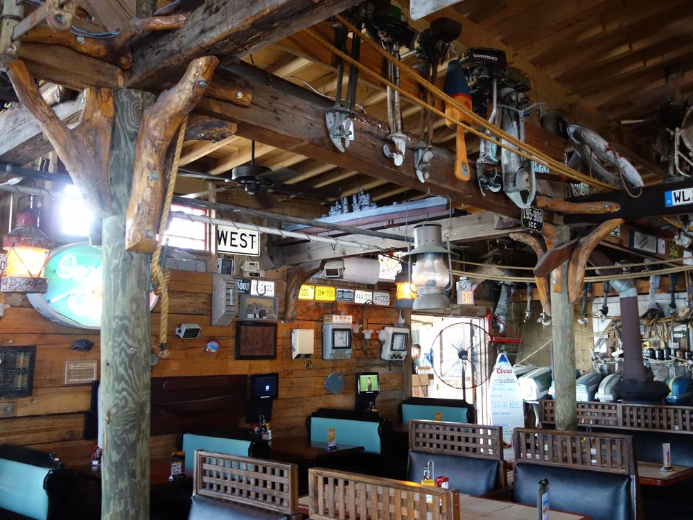 Hidden Treasure Rum Bar and Grill Seating Area