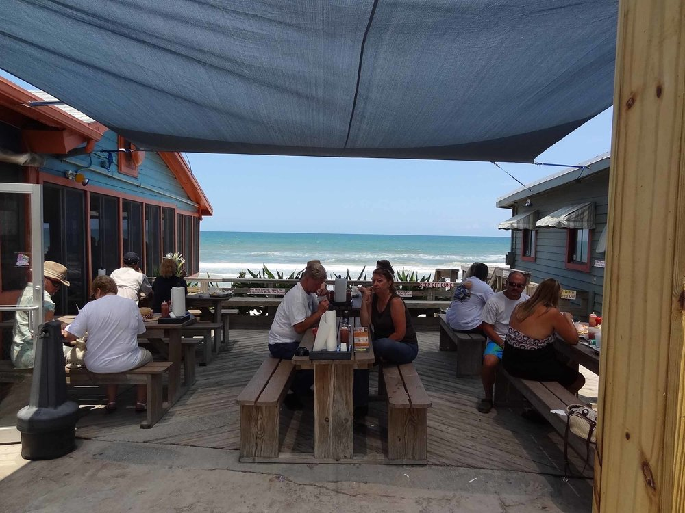 High Tides at Snack Jack Patio