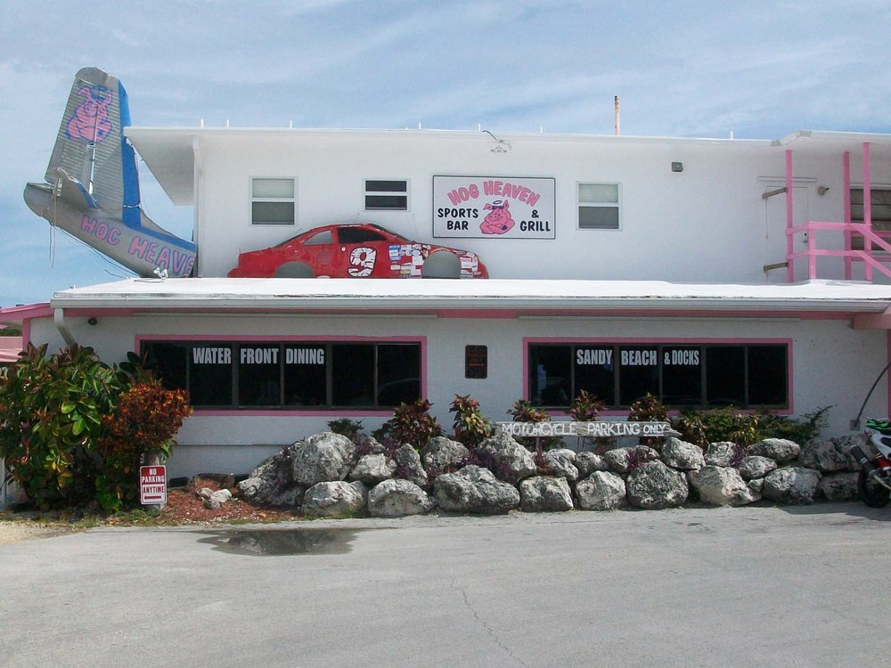 Hog Heaven Sports Bar and Grill Entrance