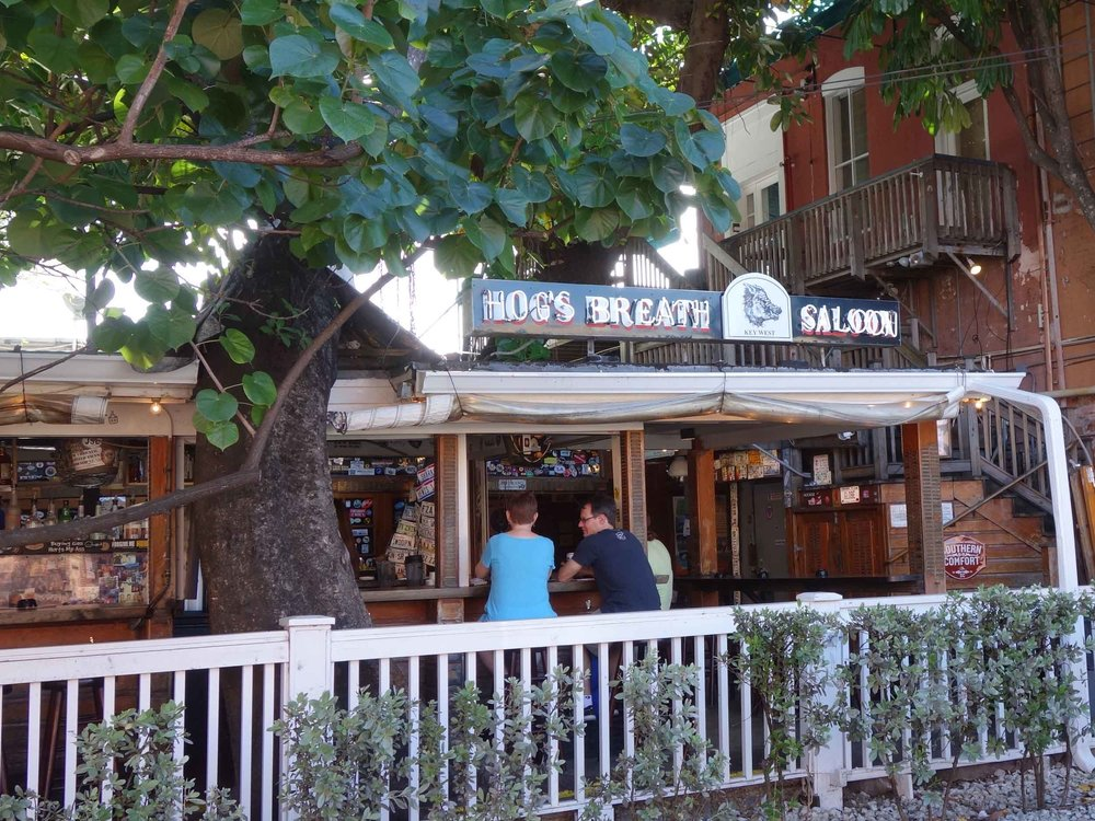 Hog's Breath Saloon Exterior Bar
