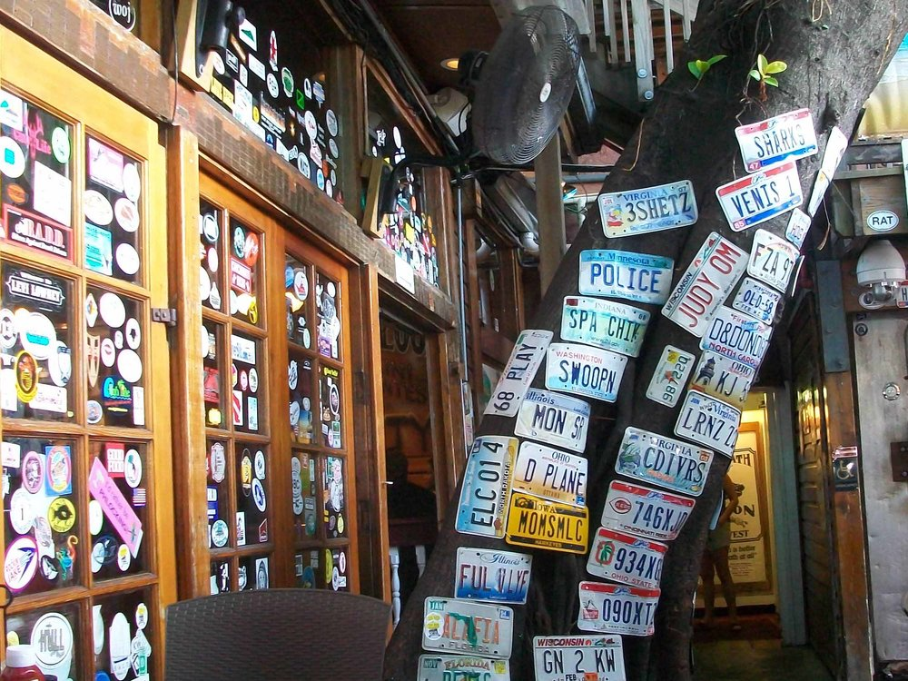 Hog's Breath Saloon Decor