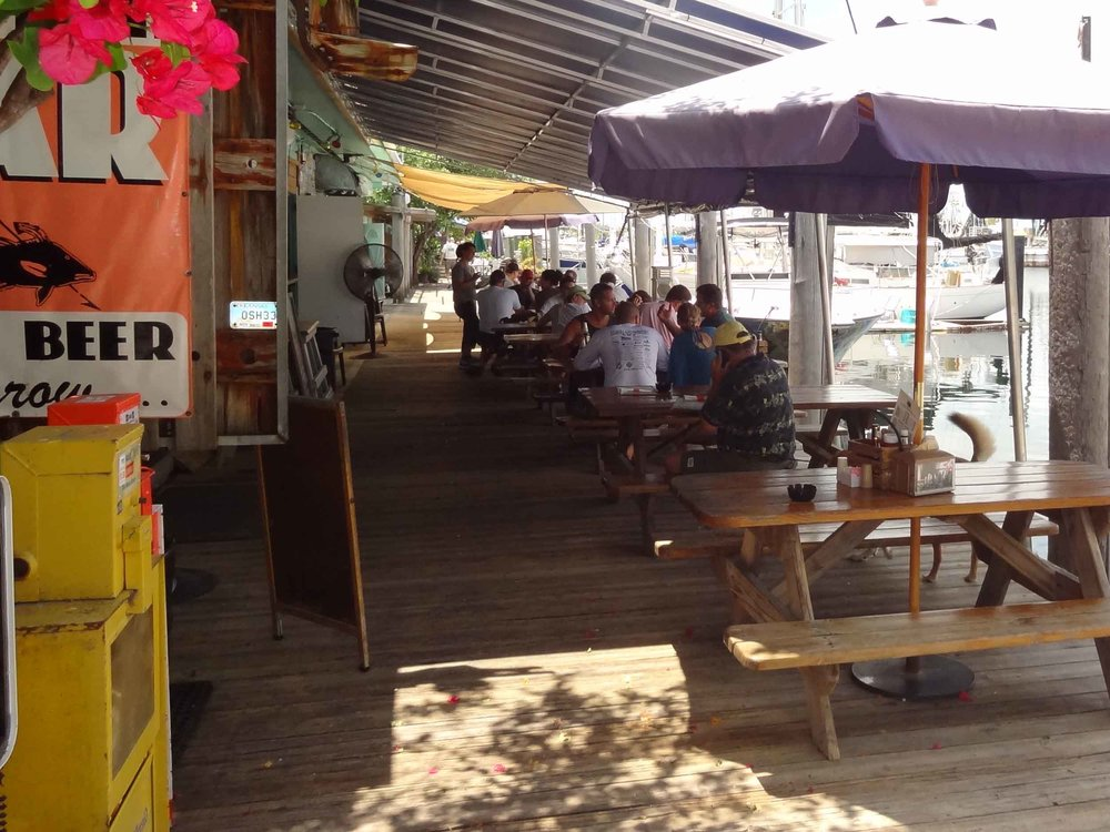 Hogfish Bar and Grill Patio