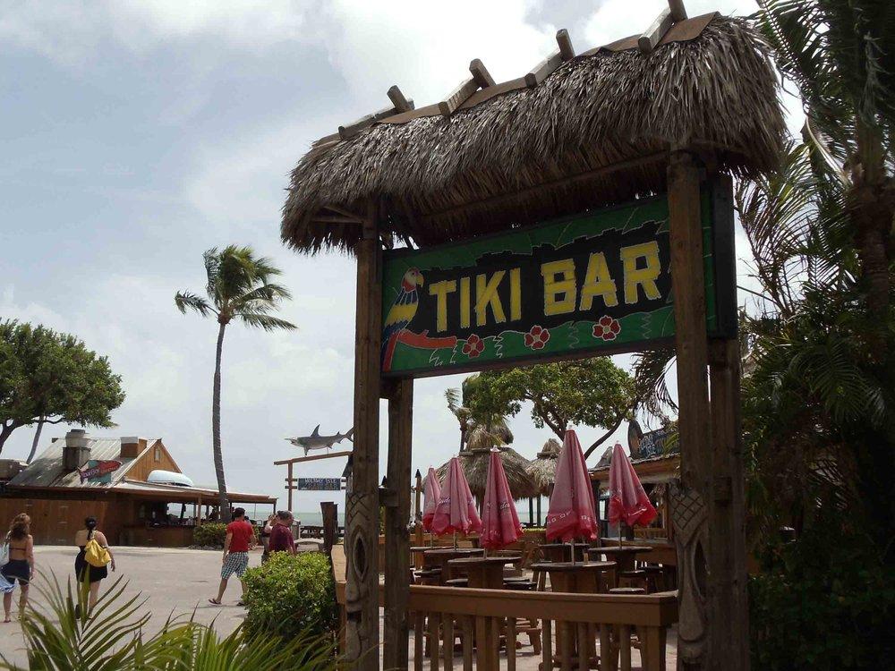 Holiday Isle Tiki Bar Sign