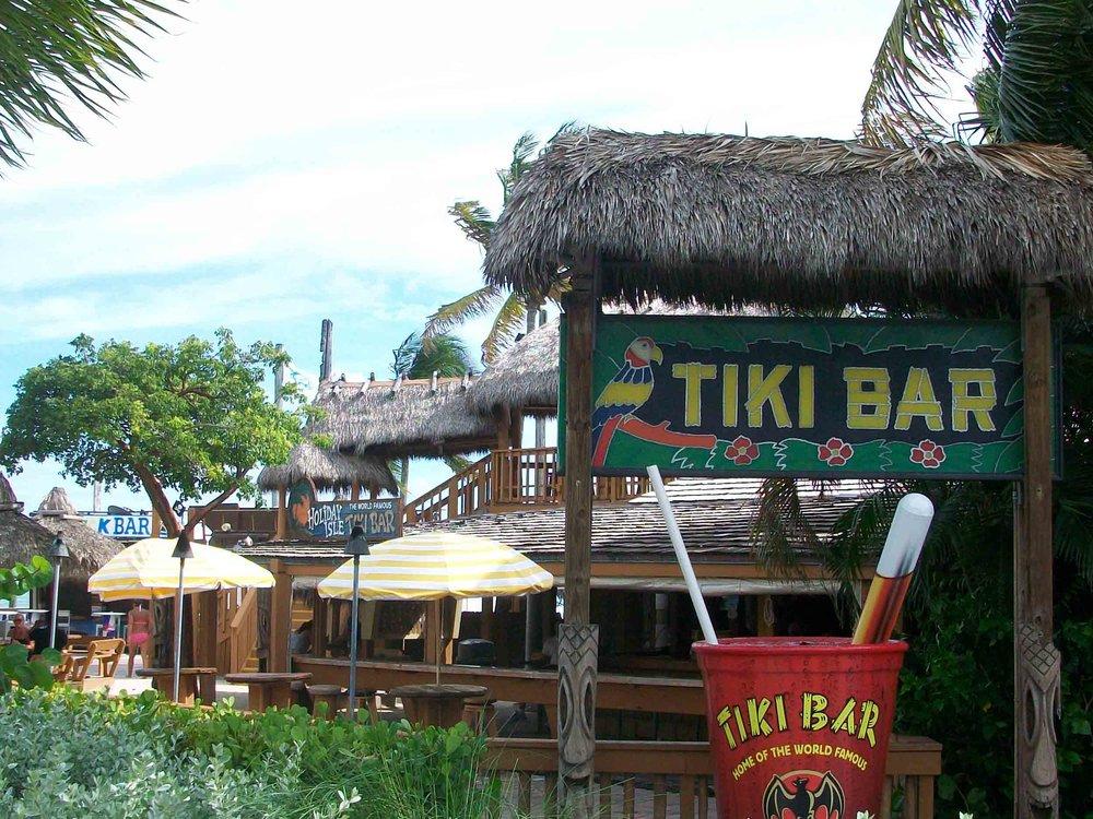 Holiday Isle Tiki Bar Exterior