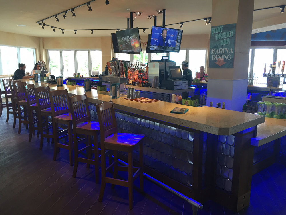 Margaritaville Hollywood Beach Resort Boat Drinks Bar