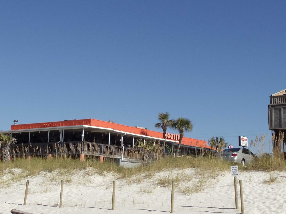 Hooters of Panama City Beach, Beach Front