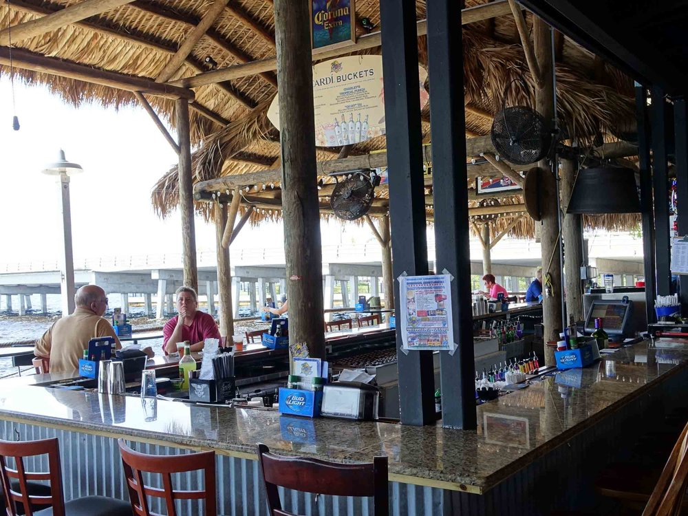 Hurricane Charley's Bar with Water View