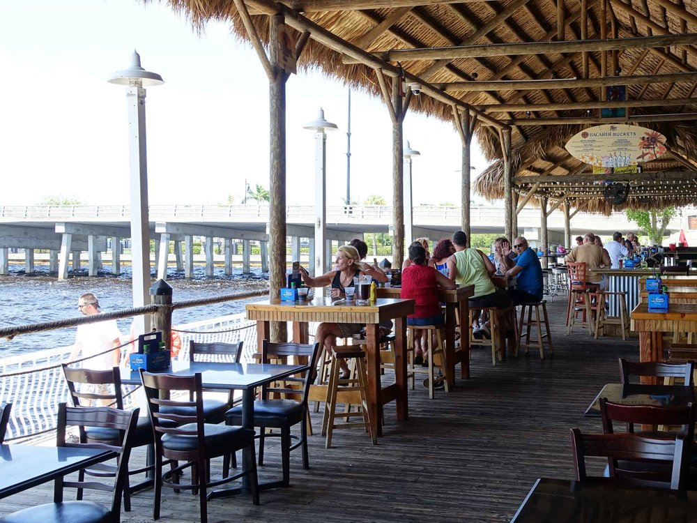 Hurricane Charley's Patio