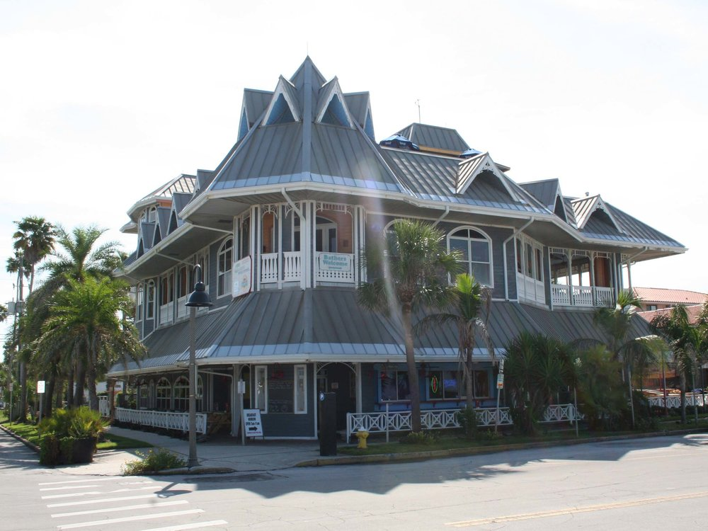 Hurricane Seafood Restaurant Entrance