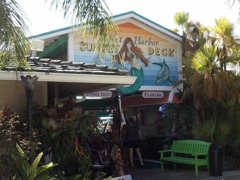 Inlet Harbor Restaurant Entrance