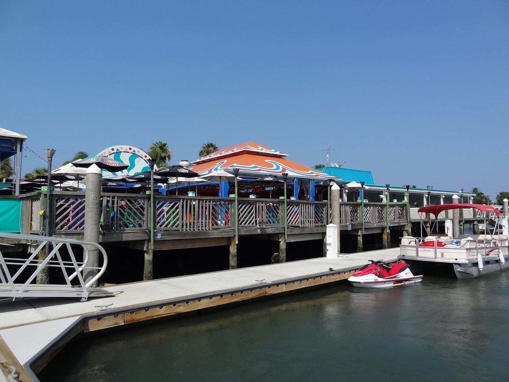 Inlet Harbor Restaurant Seating Patio