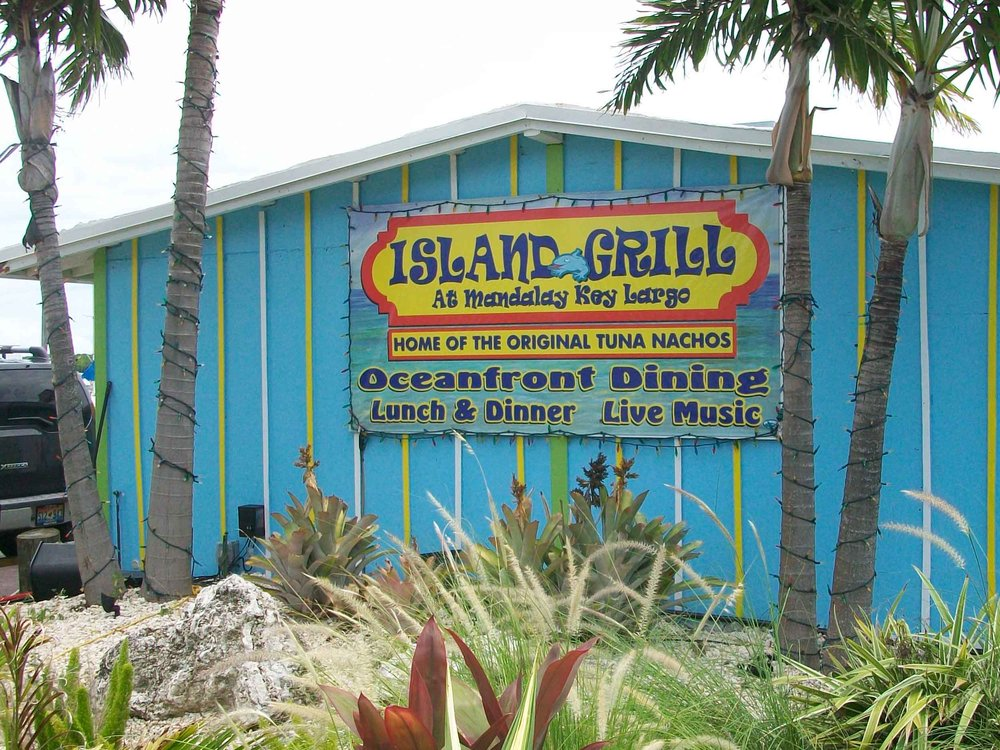 Island Grill at Mandalay Entrance