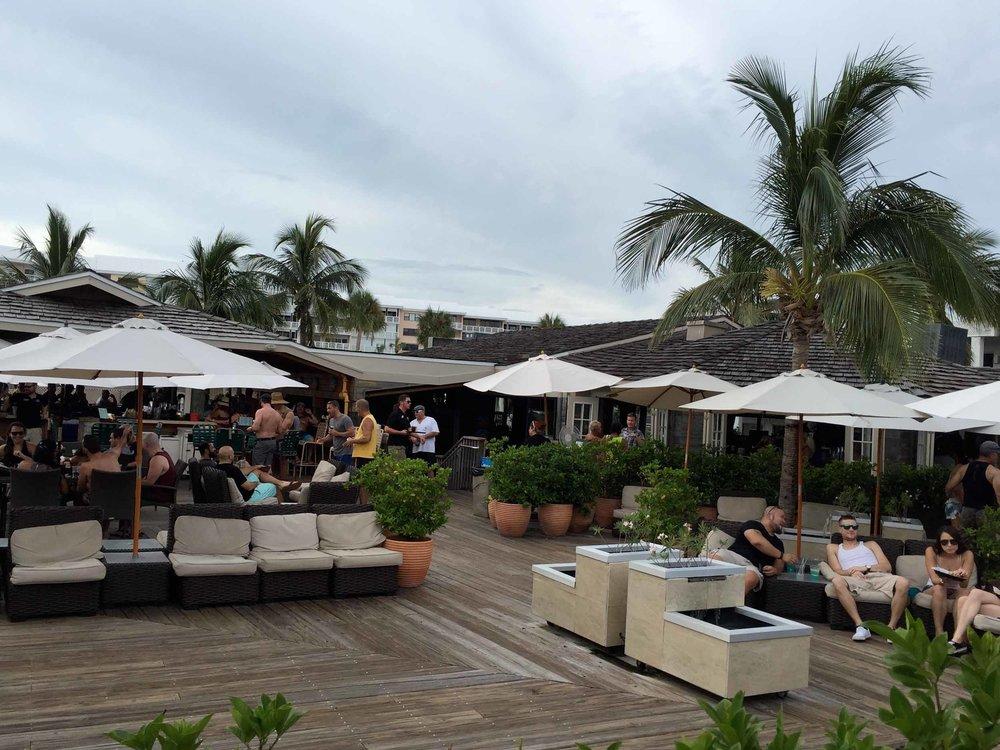 Jimmy B's Beach Bar Seating Area