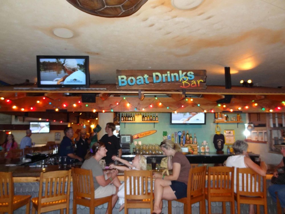 Jimmy Buffett's Margaritaville Boat Drinks Bar