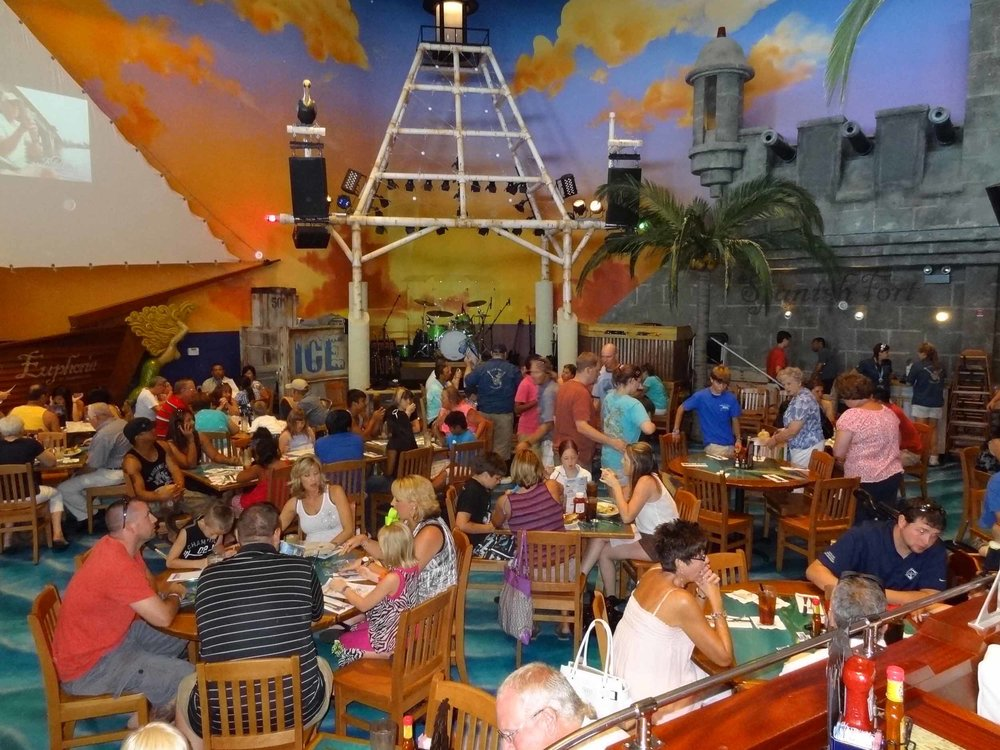 Jimmy Buffett's Margaritaville Inside Seating Area