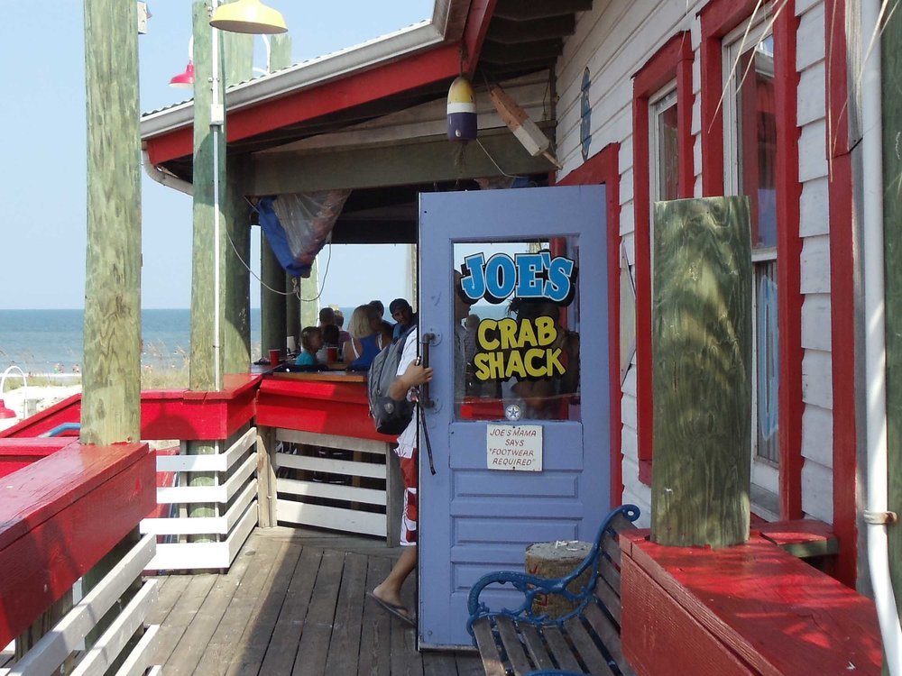 Joe's Crab Shack Entrance