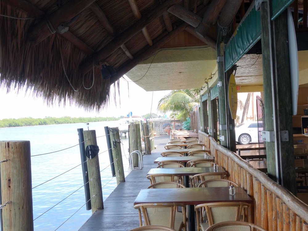 Joe's Tiki Bar Outside Patio