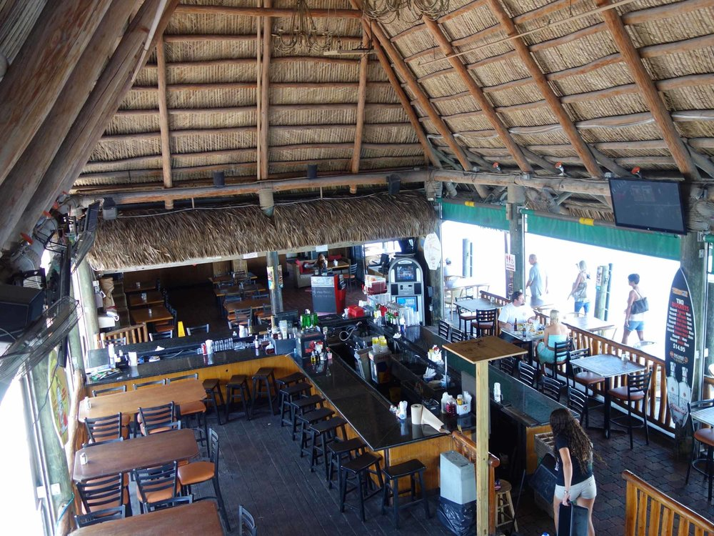 Joe's Tiki Bar Interior