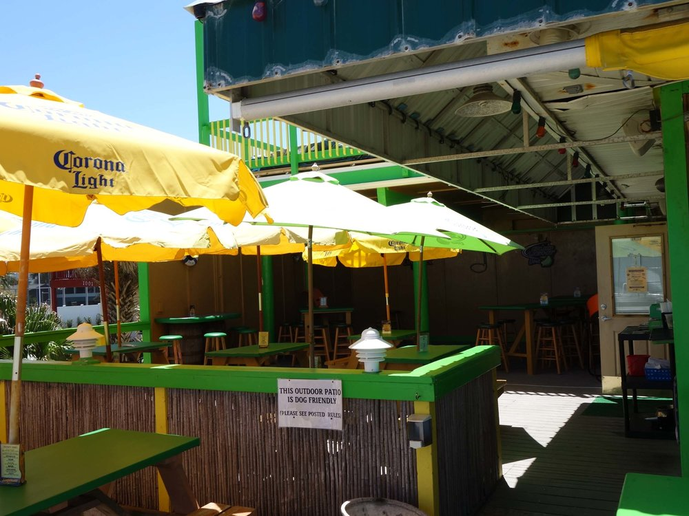 Johnny D's Beach Bar and Grill Patio
