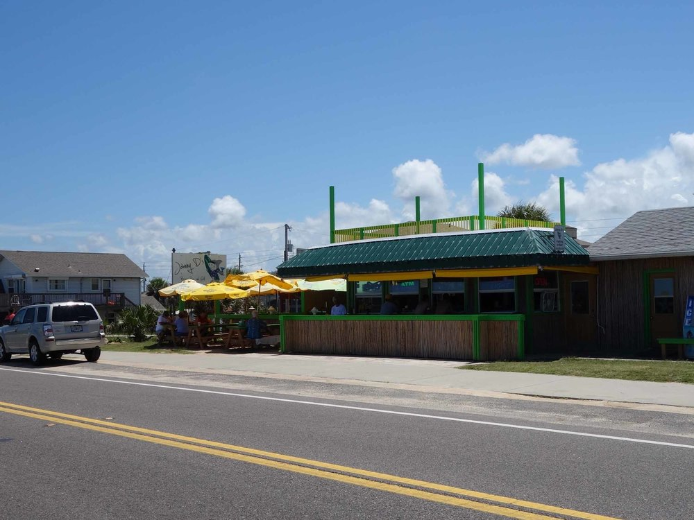 Johnny D's Beach Bar and Grill Exterior
