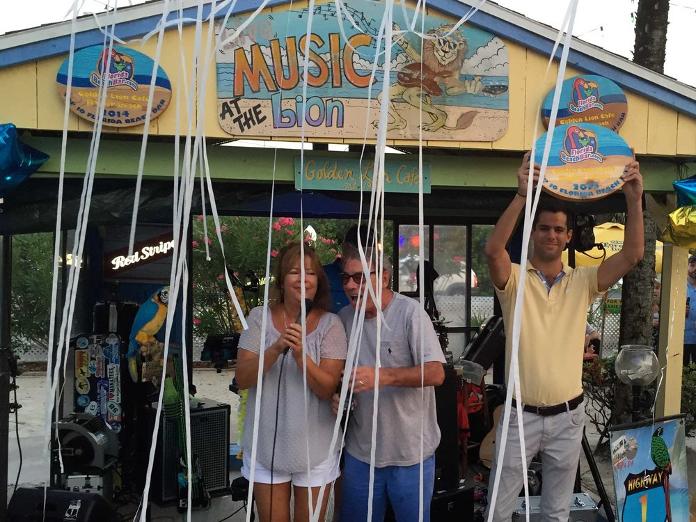 Golden Lion Cafe - 2016 Top Florida Beach Bar Award Winner