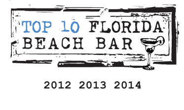 Sandshaker lounge top 10 florida beach bar award winner