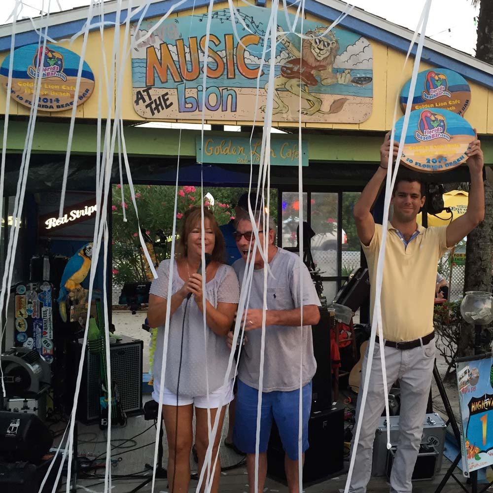golden lion cafe top 10 Florida Beach Bar AWard Winner