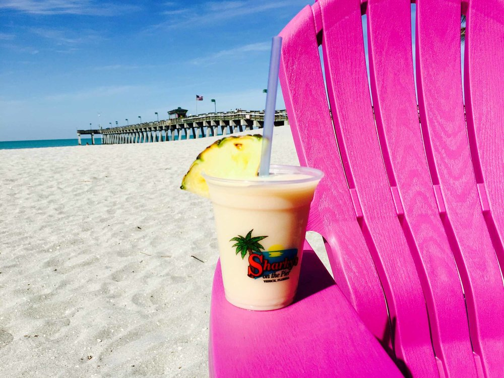 Sharky's on the Pier Pina Colada