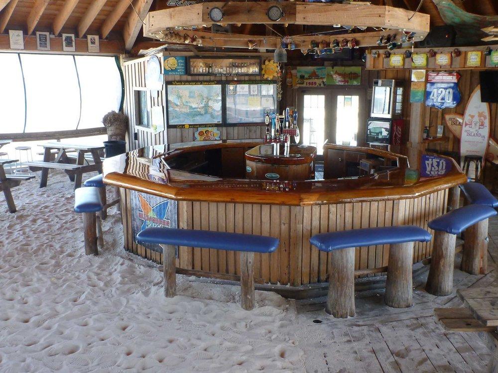 Juana's Pagodas Bar on the Beach