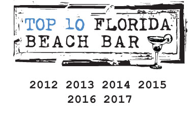 harry's beach bar top 10 florida beach bar award winner