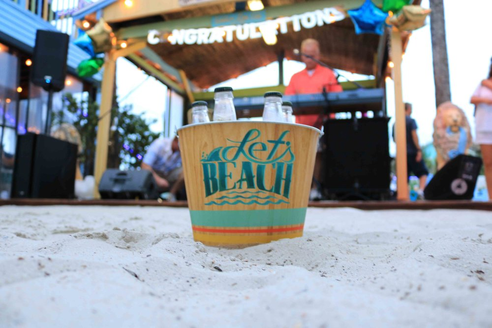 Landshark lager gave out many giveaways at the 2017 Top Florida Beach Bar Award Party