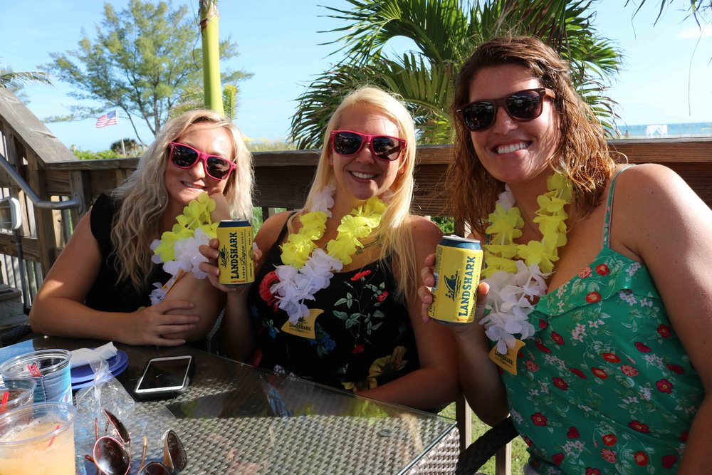 enjoying jimmy b's 2017 top florida beach bar award party