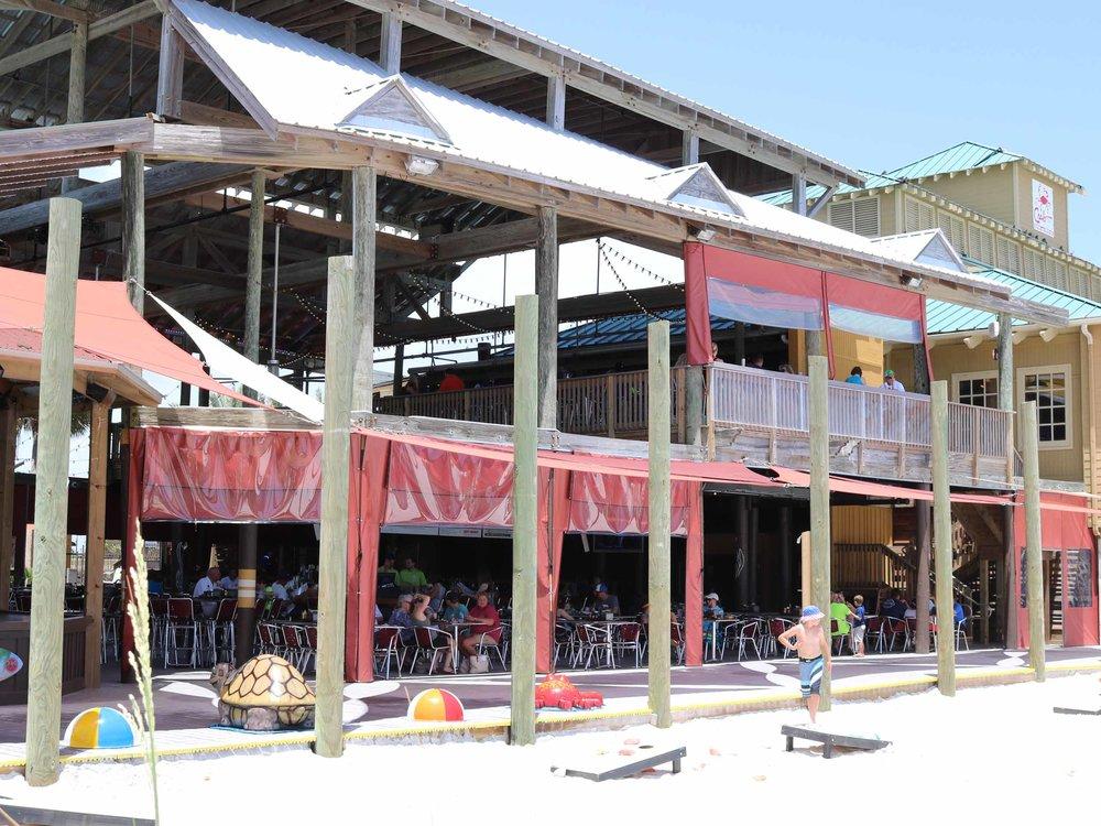 Al's Beach Club and Burger Bar Exterior