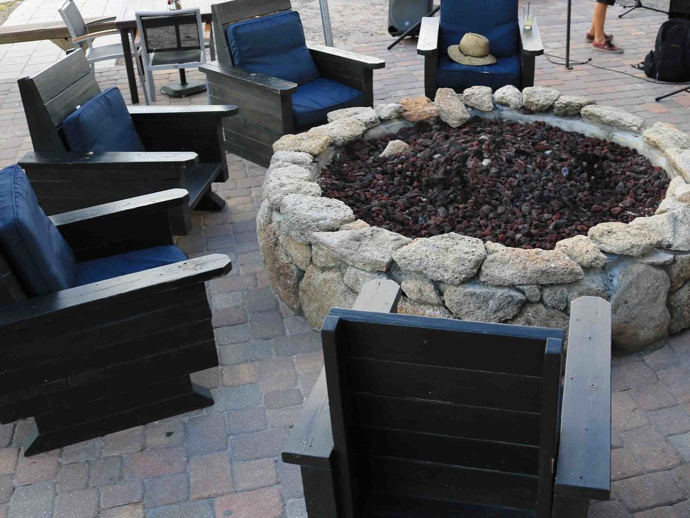 Tortugas Kitchen and Bar Fire Pit