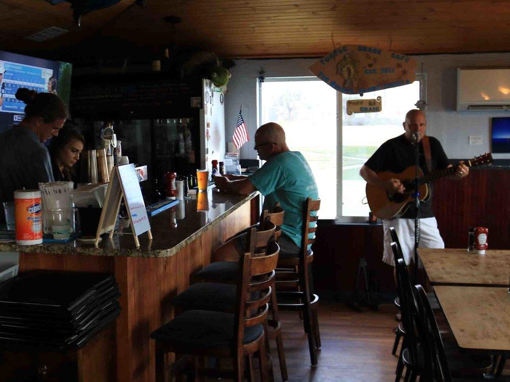 Turtle Shack Interior Bar