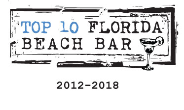 Bongos Beach Bar Top 10 Florida Beach Bar Award Winner