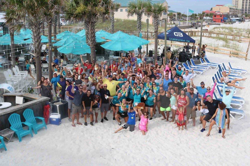 2018 Top Florida Beach Bar award party at Casino Beach Bar