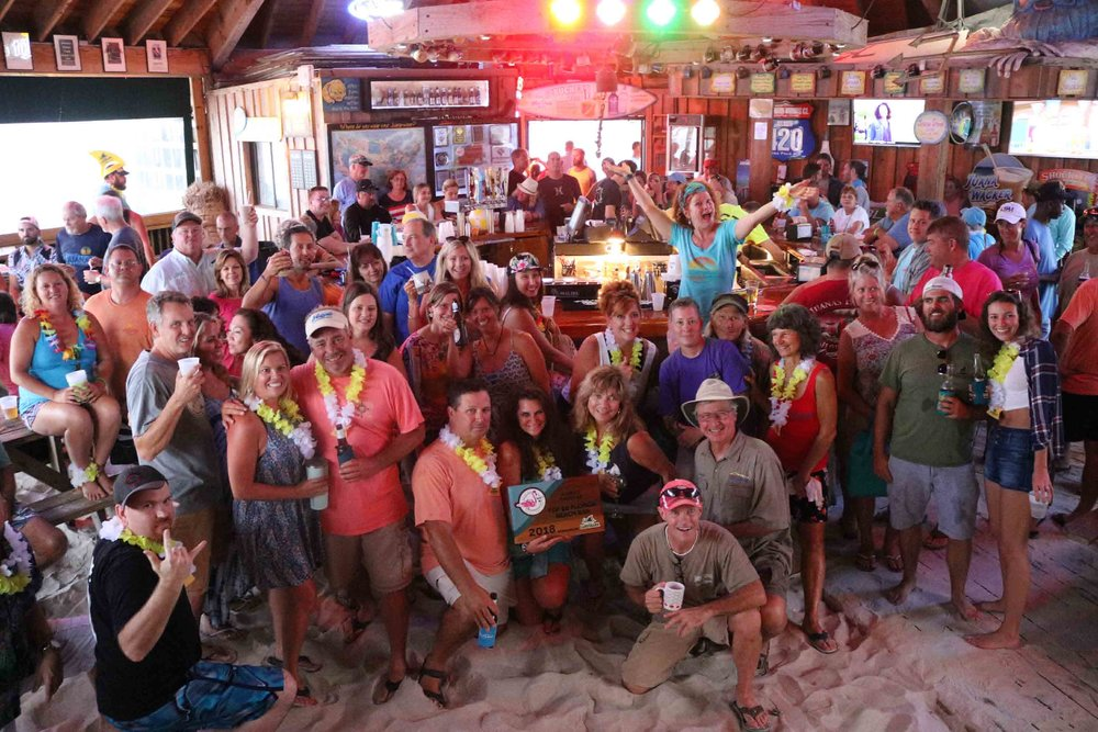 2018 Top Florida Beach Bar award party at Juana's Pagodas